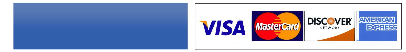 Paypal/Credit Card