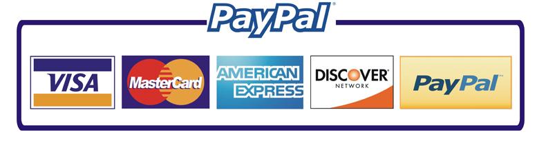Paypal/Cartão de crédito