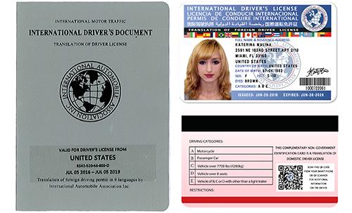 International Permit Sample 1